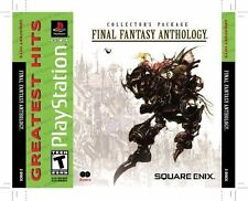 Sony PlayStation Final Fantasy Anthology by Square Enix TEEN Rated