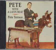 CD Mega RARE Fania FIRST PRESSING Pete Terrace & his Orch WITH A LATIN BEAT