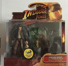 "Indiana Jones Action Figure of INDIANA JONES And TEMPLE TRAP 3.75"" Tall"