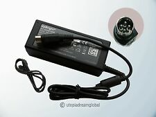 4-Pin DIN NEW AC Adapter For JENTEC JTA0512 5V 12V 3A Power Supply Cord Charger