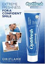 Oriflame Optifresh System 8 Crystal White Toothpaste - 100ml