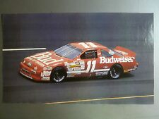 1993 Bill Elliot Budwieser NASCAR Print / Picture / Poster RARE!! Awesome L@@K