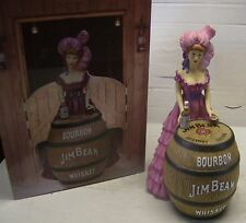 2012 International Jim Beam Convention Pink Dress Saloon Girl Decanter #90/175