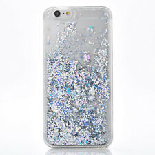 Bling Stars Glitter Liquid Quicksand Hard Phone Case For iPhone 7 6 6S Plus 5S