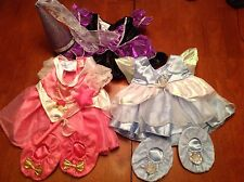 Lot of 3 Retired Build a Bear Outfits - Dresses, Shoes, Hat