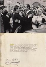 FOTOGRAFÍA ANTIGUA: EL REY DE ESPAÑA JUAN CARLOS I. En MALAGA boda.