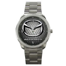 New Sport Metal Wristwatch Stainless mazda speed *mx miata