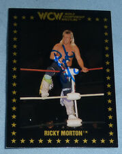 Ricky Morton Signed 1991 WCW Card PSA/DNA COA Autograph WWE Rock n Roll Express