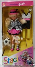 1992 STACIE Party N Play BARBIE Littlest Sister NRFB Soccer Party and Play