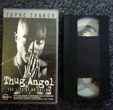 THUG ANGEL Life of an Outlaw Tupac Shakur VHS Music Video
