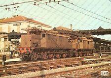 1975 ca ACQUI TERME (AL) Locomotiva FS E.432 in stazione *Foto seriale 29x21