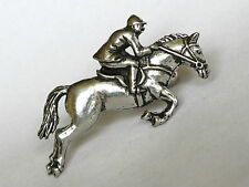 Showjumper Showjumping Horse Pony Pewter Cufflinks Gift Mens Jewellery Boxed