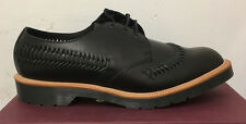 DR. MARTENS WEAVER BLACK BEAUMONT   LEATHER  SHOES SIZE UK 13