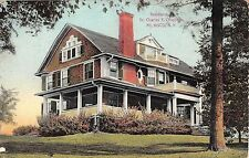 1912 Dr. Charles F. Chapman Home Mt. Kisco NY post card Westchester County