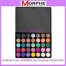 NEW Morphe Brushes 35-Multi Color SHIMMER Eye Shadow Palette 35U FREE SHIPPING