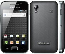 Samsung Galaxy Ace Negro/blanco used/refurbished desbloqueado teléfono inteligente Android Wifi
