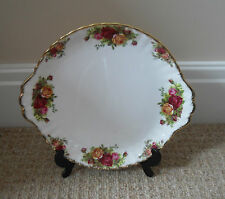 ROYAL ALBERT -  OLD COUNTRY ROSES - CAKE PLATE - EXCELLENT