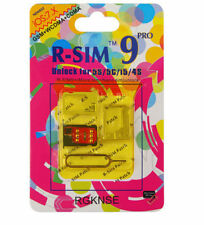 For Pro iPhone4S/5/5S/5C/6 Card Unlock IOS 6.0 Sprint CDM R-SIM9 HOT