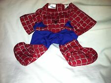 Build a Bear Red/Blue/Sliver Spider-Man Suit