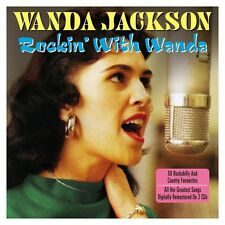 WANDA JACKSON - ROCKIN' WITH WANDA -50 ROCKABILLY & COUNTRY FAVOURITES (NEW 2CD)