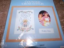 Candamar Special Memories ONE SO DEAR Angel NIP Counted Cross Stitch Kit w/Mat