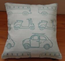 Cushion cover John Lewis fabric Here There and everywhere cars 16x16 inch retro