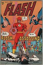 FLASH cenisio N.3 FLASH... ASSASSINO !  1978  lanterna verde green lantern the