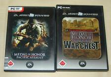 2 PC Giochi raccolta-Medal of Honor Pacific Allied Assault era chest Spearhead