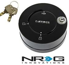 NRG Steering Wheel Quick Release Hub Quick Lock SHINE Black (SHINY FINISH)