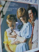 Majesty Magazine May 1983 V4 #1 Charles & Diana In Australia, Queen In North Ame