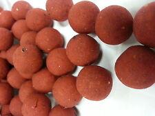 # rouge cocktail tropical pêche la carpe Boilies / Appât 100g 15mm