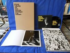 JOHNNY HALLYDAY CHRONIQUE CONCERT EZRA PETRONIO BOOK / 45T / PHOTO LIMITED 1000
