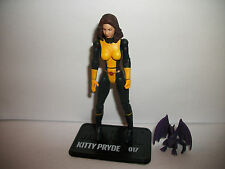 "Super Hero Comic Book Marvel Universe Figure 3-4"" 3.75"" Kitty Pryde Pride"