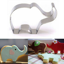 Stainless Steel Elephant Baking Biscuit Cookie Cutter Set Decorating Mould
