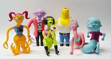 Charles Burns - Monster Teens Time Capsule Figures Full Set NEW Sealed 2003 L@@K
