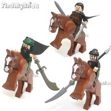 NEW Lego Three Kingdoms Liu Bei Guan Yu Zhang Fei Minifigures 三國 劉備 關雲長 張飛 NEW