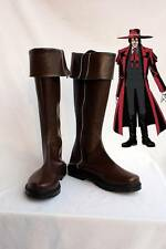 Hellsing Alucard Cosplay Boots Shoes Custom Made
