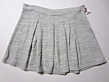 Tommy Hilfiger Womens Gray Marled above Knee Length Pleated Skirt XL sport