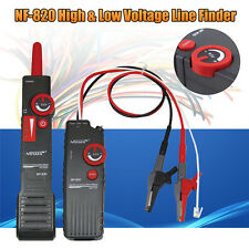 NF-820 High&Low Voltage Underground Wall Wires Fault Locator Cable Finder Tools