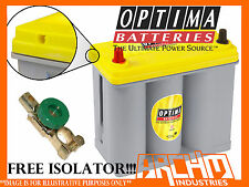 OPTIMA YELLOW TOP D51T1 Battery 500CCA / JIS (small posts) suits Toyota Prius!