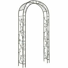 Garden Archway Arbor Wedding Trellis Backyard Entryway Patio Outdoor Decor