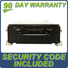 08 09 ACURA RDX Radio Stereo MP3 6 CD Changer Player 39101-STK-A021 AUX w/ CODE