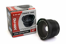 Opteka 52mm 0.35x HD Wide Angle Panoramic Fisheye Lens