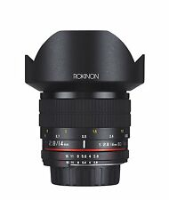 Rokinon 14mm f/2.8 IF ED UMC Ultra Wide Angle Fixed Lens w/Built-in AE(Nikon-AE)