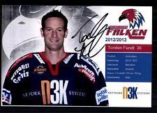Thorsten Fendt Heilbronner Falken 2012-13 Foto Eishockey +A 75979