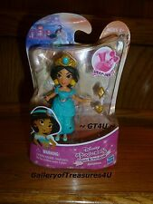 "Disney Princess Little Classic Kingdom JASMINE Snap-Ins 3"" Mini Doll Jasmin"