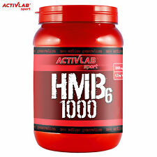 HMB 6 120 Tablets Lean Mass Builder Fat Buner Muscle Growth Anabolic Ripped ABS