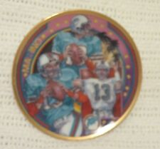 1990 Dan Marino Miami Dolphins Sports Impressions Mini Plate Superstar Series
