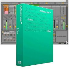 Ableton Live 9 Intro DAW Digital Recording Electronic Music Software Boxed