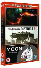 Knowing / District 9 / Moon (DVD, 2010) ( BRAND NEW & SEALED )